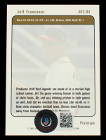 Jeff Francoeur Signed 2002 Justifiable Prototypes #4 (Beckett COA) at PristineAuction.com
