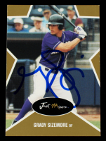 Grady Sizemore Signed 2003 Just Stars #43 (Beckett COA) at PristineAuction.com