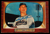 Sonny Dixon Signed 1955 Bowman #211 RC (Beckett COA) at PristineAuction.com