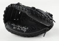 "Benito Santiago Signed Wilson A360 Black Catchers Glove Inscribed ""87 NL ROY"" (Schwartz Sports COA) at PristineAuction.com"