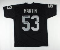 "Rod Martin Signed Jersey Inscribed ""SB XV & XVIII"" (Beckett COA) at PristineAuction.com"