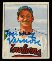 Mickey Vernon Signed 1950 Bowman #132 (Beckett COA) at PristineAuction.com