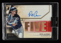 Pete Alonso 2020 Topps Luminaries Hit Kings Autographs Red #HKPAL #2/10 at PristineAuction.com