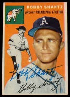 Bobby Shantz Signed 1954 Topps #21 (Beckett COA) at PristineAuction.com
