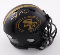 Joe Montana Signed 49ers Eclipse Alternate Speed Mini Helmet (Beckett COA) at PristineAuction.com
