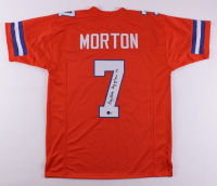 """Craig Morton Signed Jersey Iscribed """"Ring of Fame 88"""" (Beckett COA) at PristineAuction.com"""
