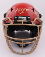 Nick Bosa Signed Full-Size Authentic On-Field Hydro Dipped Vengeance Helmet (Beckett COA) at PristineAuction.com