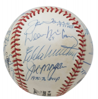 MVP Winners ONL Baseball Signed by (25) with Willie Mays, Phil Rizzuto, Brooks Robinson, Sandy Koufax, Yogi Berra, Willie Stargell (JSA LOA) at PristineAuction.com