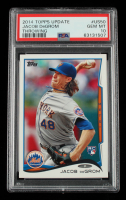 Jacob deGrom 2014 Topps Update #US50A RC (PSA 10) at PristineAuction.com
