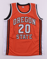 Gary Payton Signed Jersey (Beckett COA) at PristineAuction.com