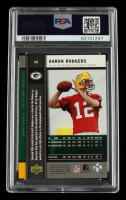 Aaron Rodgers 2005 Upper Deck Rookie Premiere #16 (PSA 10) at PristineAuction.com