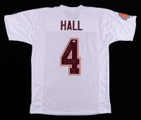 """DeAngelo Hall Signed Jersey Inscribed """"2003 All-American"""", """"VT Sports HOF"""", & """"Hokies 4 Life"""" (Beckett COA) (See Description) at PristineAuction.com"""