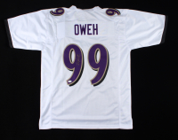 Odafe Oweh Signed Jersey (JSA COA) at PristineAuction.com