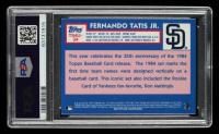 Fernando Tatis Jr. 2019 Topps Update '84 Topps Silver Pack Chrome #T84U34 (PSA 10) at PristineAuction.com