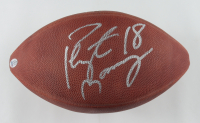 Peyton Manning Signed NFL Logo Football (Beckett LOA) (See Description) at PristineAuction.com