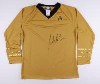 "William Shatner Signed ""Star Trek"" Replica Uniform Shirt (JSA COA) at PristineAuction.com"