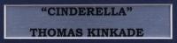 "Thomas Kinkade ""Cinderella"" 16x16 Custom Framed Print Display With Cinderella Movie Pin at PristineAuction.com"
