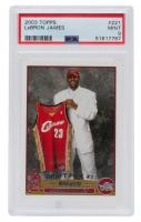 LeBron James 2003-04 Topps #221 RC (PSA 9) at PristineAuction.com