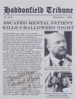 """Tom Morga Signed """"Halloween 4"""" 8x10 Photo Inscribed """"Michael Myers"""" & """"H-4""""  (JSA COA) at PristineAuction.com"""