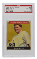 Babe Ruth 1933 Sport Kings #2 (PSA 4) at PristineAuction.com
