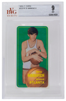 Pete Maravich 1970-71 Topps #123 RC (BVG 9) at PristineAuction.com