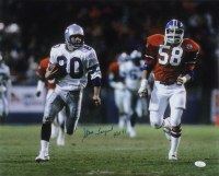 "Steve Largent Signed Seahawks 16x20 Photo Inscribed ""HOF 95"" (JSA COA) at PristineAuction.com"