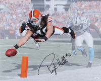 Peyton Hillis Signed Browns 16x20 Photo (JSA COA) at PristineAuction.com