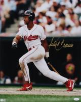 Julio Franco Signed Indians 16x20 Photo (JSA COA) at PristineAuction.com