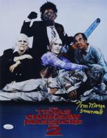 "Tom Morga Signed ""Texas Chainsaw Massacre"" 11x14 Photo Inscribed ""STUNTMAN"" (JSA COA) at PristineAuction.com"