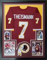 Joe Theismann Signed 34x42 Custom Framed Jersey Display (Beckett COA) at PristineAuction.com