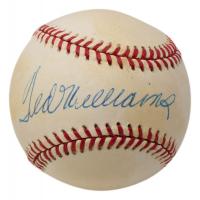 Ted Williams Signed OAL Baseball (UDA COA) at PristineAuction.com