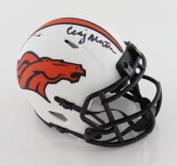 Craig Morton Signed Broncos Lunar Eclipse Alternate Speed Mini Helmet (Beckett Hologram) at PristineAuction.com