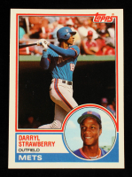 Darryl Strawberry 1983 Topps Traded #108T RC at PristineAuction.com
