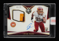 Chase Young 2020 Panini Limited Gold Spotlight Jersey Autograph #111 RC 01/75 at PristineAuction.com