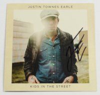 """Justin Townes Earle Signed """"Kids In The Street"""" CD Album Booklet (JSA COA) at PristineAuction.com"""