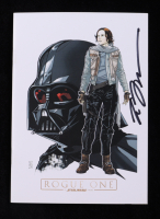 """Tom Hodges - """"Rogue One"""" - Star Wars - Signed Movie Premiere Program (PA COA) at PristineAuction.com"""