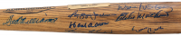 500 Home Run Club Baseball Bat Signed by (9) with Ted Williams, Hank Aaron, Willie Mays, Frank Robinson, Ernie Banks, Reggie Jackson (Beckett LOA) at PristineAuction.com