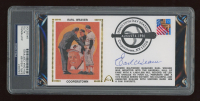 Earl Weaver Signed FDC Envelope (PSA Encapsulated) at PristineAuction.com