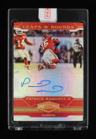Patrick Mahomes 2020 Panini Plates and Patches Leaps and Bounds Autographs #7 29/50 at PristineAuction.com