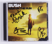 """""""Man On The Run"""" CD Album Booklet Band-Signed by Gavein Rossdale, Chris Traynor, Corey Britz & Nik Hughes (JSA COA) (See Description) at PristineAuction.com"""