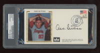 Don Sutton Signed FDC Envelope (PSA Encapsulated) at PristineAuction.com