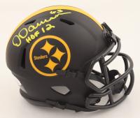 "Dermontti Dawson Signed Steelers Eclipse Alternate Speed Mini Helmet Inscribed ""HOF 12"" (JSA COA) at PristineAuction.com"