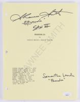"Samantha Lemole & Shawnee Smith Signed ""Saw"" Movie Script Inscribed ""Amanda"", ""Saw III"" & ""Pamela"" (JSA Hologram) at PristineAuction.com"