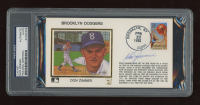 Don Zimmer Signed FDC Envelope (PSA Encapsulated) at PristineAuction.com