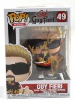 "Guy Fieri Signed ""Guy! Guy Fieri"" #49 Guy Fieri Funko Pop! Vinyl Figure Inscribed ""Keep Cool"" (JSA COA) at PristineAuction.com"