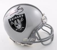 Howie Long Signed Raiders Mini Helmet (Beckett COA) at PristineAuction.com