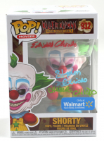 """Edward, Stephen & Charlie Chiodo Signed """"Killer Klowns: From Outer Space"""" #932 Shorty Funko Pop! Vinyl Figure (JSA COA) at PristineAuction.com"""