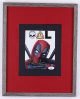 "Ryan Reynolds Signed ""Deadpool"" 12x15 Custom Framed Photo Display (JSA COA) at PristineAuction.com"