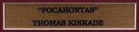 """Thomas Kinkade """"Pocahontas"""" 17x17 Custom Framed Print at PristineAuction.com"""