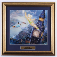 "Thomas Kinkade ""Peter Pan"" 17x17 Custom Framed Print at PristineAuction.com"